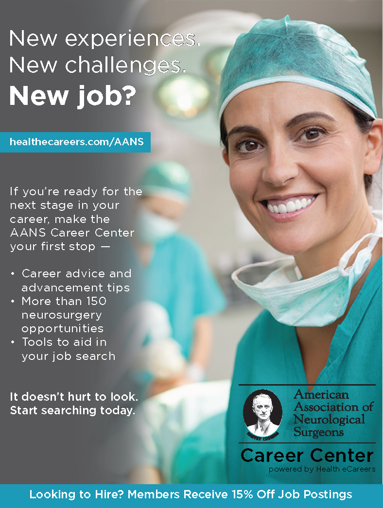 Join Neurosurgical Subspecialty Sections Of The Aans And Cns