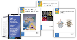 Journal of Neurosurgery Publications